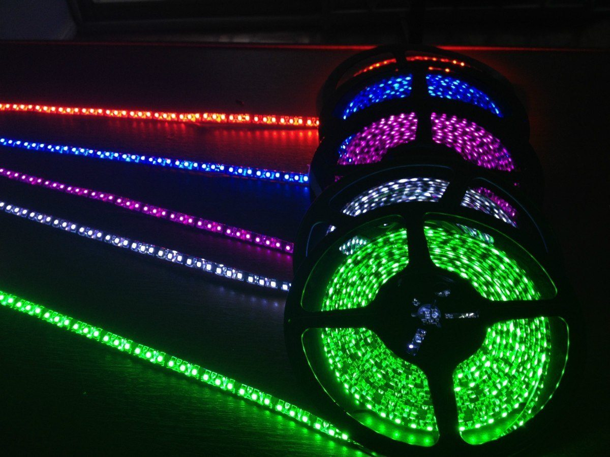 Tiras de led flexible para autos