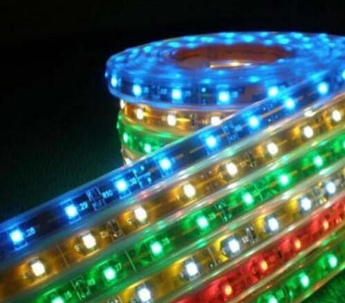Tiras de led flexible de silicon